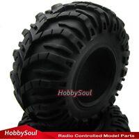 "2 Stk RC 2.2"" Crawler Reifen Tires tyre 130mm für RC4 WD Axial Crawler parts"