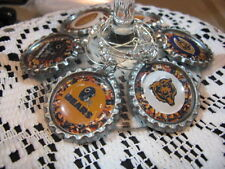 """1"""" Bottle Cap Image Wine Charms ~ Handcrafted ~ **Gift Idea ~ Bears"""