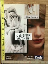 Taylor Swift For Keds Shoes 2014 Print Ad 3 PG. Fashion Set