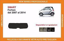 pellicola oscurante vetri pre tagliata smart fortwo dal 2007-2014 kit lunotto