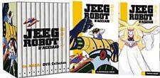 12 Dvd Box Cofanetto «JEEG ROBOT D'ACCIAIO» Go Nagai Collection serie completa