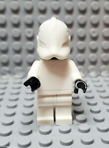Lego Star Wars Blank Plain White Phase 2 Clone Trooper for Decals