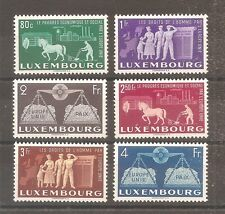 TIMBRE LUXEMBOURG 1951 N°443/448 NEUF** MNH COTE 260 EUROS