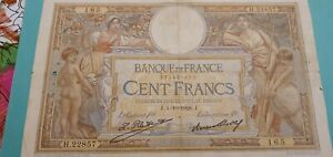 Billet 100 Francs MERSON France 1928
