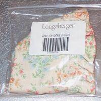 Longaberger Vintage Blossoms TEA Basket Liner ~ Brand New in Original Bag!