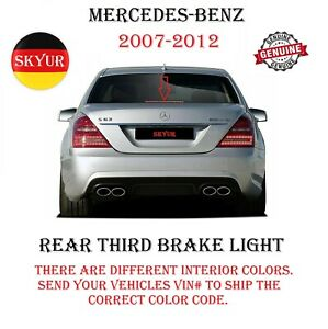 2007-2012 Mercedes W221 W216 S-class CL-class Rear Third Brake Light LED GENUINE