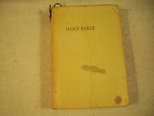 Holy Bible Red Letter Edition King James Self Pronouncing Old & New 163D
