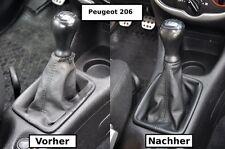 Cuffia del cambio PEUGEOT 206 vera pelle N399