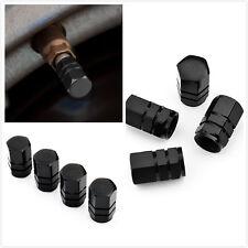 aluminum air valve cover cap BLACK for tire stem wheel rim all car universal NEW