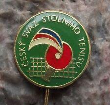 Czech Republic Modern Table Tennis Ping Pong Association Club Members Pin