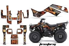 ATV Graphics Kit Quad Decal Sticker Wrap For Kawasaki Bayou 250 03-11 FIRESTRM K