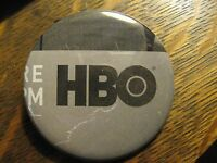 HBO Home Box Office Television Station Logo Advertisement Lapel Hat Button Pin