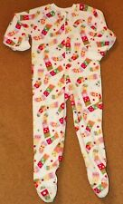 Baby Girls Boys WONDER KIDS One-Piece Fleece PAJAMAS 3T CHRISTMAS Stockings