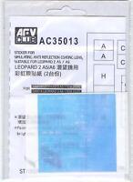 AFV Club 1/35 AC35013 Sticker Anti Reflection Coating Lens for Leopard 2 A5/A6
