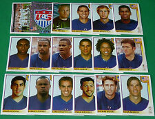 PANINI FOOTBALL JAPAN KOREA 2002 COUPE MONDE FIFA USA