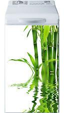 Sticker lave linge déco électroménager Bambou réf 19 40x80cm