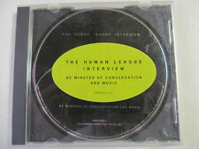 HUMAN LEAGUE INTERVIEW CD 60 MINUTES OF CONVERSATION AND MUSIC COLLECTIBLE PROMO