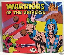 Warriors of the Universe Gumball Vending Machine Card
