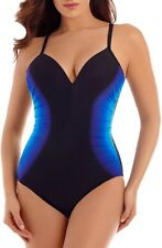 Miraclesuit Gulfstream Temptation Underwire One-Piece Swimsuit 9109 Size 14