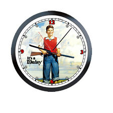 Daisy Red Ryder  BB Gun Rifle 1960's Art Licensed Retro Vintage Wall Clock #226