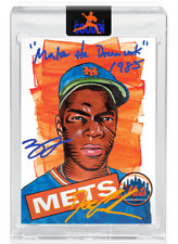 BLAKE JAMIESON / DWIGHT GOODEN DUAL AUTOGRAPH- TOPPS PROJECT 2020 - LIMITED /69