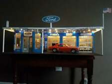 1:18  Scale DIECAST DIORAMA 4 BAY GARAGE SHOP WITH LIGHTS FORD