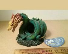 Exotic Environments Spiral Sea Serpent Cave  Aquarium Decoration or Ornament