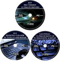2019 PC Computer Tuneup Diagnostic Repair Data Recovery Virus Removal Drivers +
