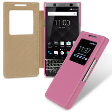 TETDED Premium Leather Case for BlackBerry KEYone Dijon V (LC: Black) 9 Color