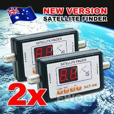 2X OZ HQ TV Satlink WS 6903 Digital Satellite Signal Finder Meter LCD Display