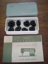 SEARS KENMORE MODEL 84 SEWING MACHINE MANUAL & 8 Decor Stitch DISCS CAMS