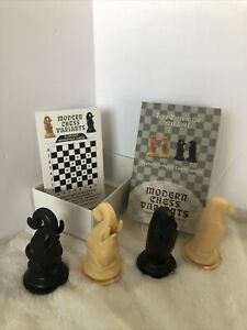 Elephant & Hawk - Modern Chess Variant Kit 4 Pieces By Frank Camaratta Jr