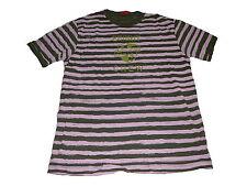 Esprit tolles T-Shirt Gr. L grün-rosa gestreift !!