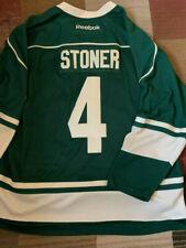 Reebok Official Licensed NHL Jersey Minnesota Wild #4 Stoner Green 4XL/4TG NEW
