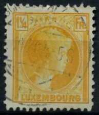Luxembourg 1926-35 SG#255a Yellow 1 1/4f Used #D67999