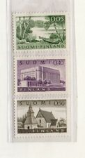 Finlandia Arquitectura Valores del año 1963-72 (DR-316)