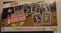2020 BOWMAN HERITAGE BASEBALL SEALED HOBBY BOX 582 MONTGOMERY EXCLUSIVE IN HAND
