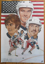 """1976 Canada Cup Team USA Poster, """"Team Useless"""" Earned Respect."""