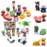 Paw Patrol Ryber Pups Vehicles Cute Figure Cake Topper Kids Gift Doll Toy Set