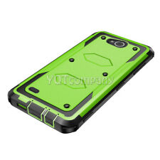 For LG Fiesta 2/ X Charge/X Power 2/Phone Case+TEMPERED GLASS Cover Solid Combat