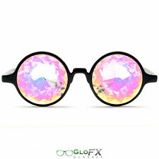 KALEIDOSCOPE SUNGLASSES - Trippy wild crazy hot led glow prizm shades optics eye