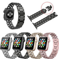 Stainless Steel Wrist Watch Band Bracelet Strap For Apple Watch iWatch 38 / 42mm