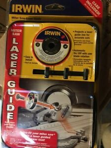 (New) Irwin Miter Saw Laser Guide 3061001 NOS Sealed Package