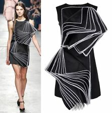 Viscose Hand-wash Only Solid Little Black Dresses for Women