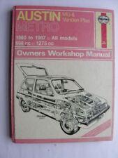 Manuals/Handbooks Austin Car Service & Repair Manuals