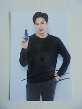 Lee Min Ho Korean Actor Signed 4x6 Photo Autograph hand signed USA Seller D5