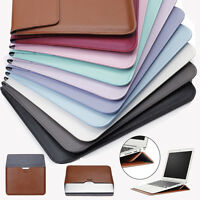 """PU Leather Envelop Laptop Sleeve Carry bag Case For Macbook Air Retina 11""""12""""13"""
