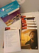 LIFEPAC CIVICS ELECTIVES Box Set Homeschool Curriculum AOP 2015