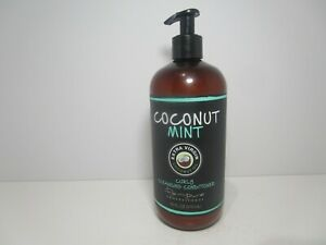 RENPURE Coconut Mint Curly Cleansing Conditioner 16 Oz. New, FREE SHIPPING