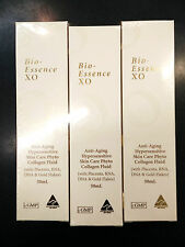 3 x XO Bio-Essence Serum Collagen with Placenta Extract AUSTRALIA Made 50ml